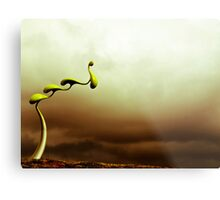 Alien Pods Metal Print