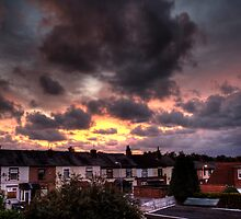 Whiston Sunset by cavan michaelides