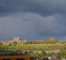 Dover Castle From Cowgate Cemetery by Dave Godden