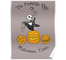 Pumpkin King of Halloween Town Poster