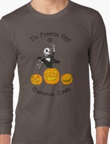 Pumpkin King of Halloween Town Long Sleeve T-Shirt