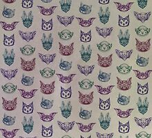 Bat Pattern by brettisagirl