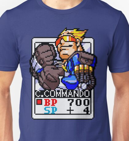 Captain Commando Unisex T-Shirt
