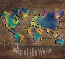 Map of the world  by JBJart