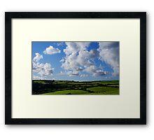 Cornwall Countryside. Framed Print