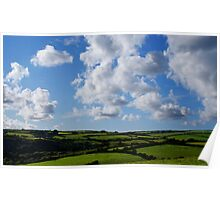 Cornwall Countryside. Poster