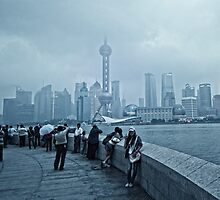 View On Pudong by Ruud van den Berg