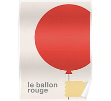 Le Ballon Rouge (The Red Balloon) Poster