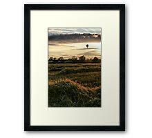 Last flight Framed Print