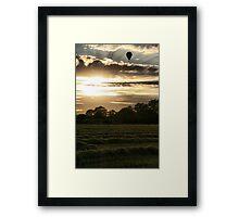 Evening Skies Framed Print
