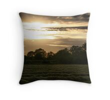 Evening Skies Throw Pillow