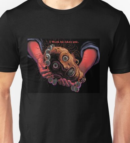 The navigator's head and necklace! (Monkey Island 1) Unisex T-Shirt