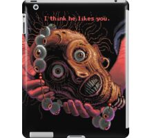 The navigator's head and necklace! (Monkey Island 1) iPad Case/Skin