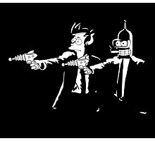 Bender & Fry Pulp Fiction Photographic Print
