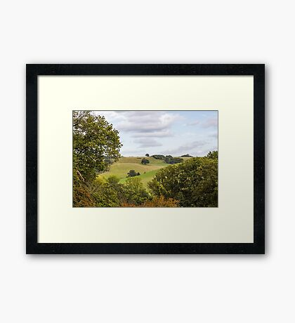 Hillside Vista Framed Print