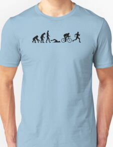 Evolution triathlon Unisex T-Shirt