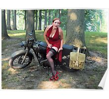 Matchless and Redhead Poster