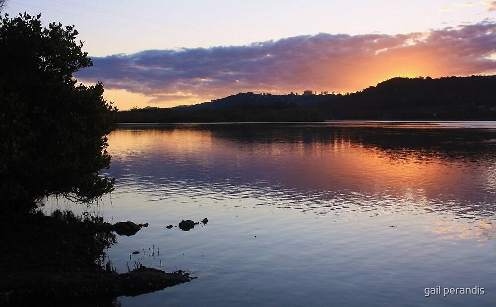 tweed river afternoon ... by gail woodbury