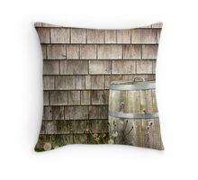 Wooden Throw Pillow