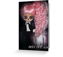 Lady Gaga Born This Way Greeting Card
