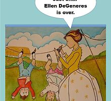"""Anti-""""Helicopter Parenting"""" for Ellen DeGeneres by TippyToes"""