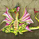 Chillaxin' Dragon by Patricia Anne McCarty-Tamayo