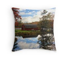 Atumn Reflections Throw Pillow