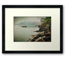 Stonehurst in the Fog III Framed Print