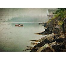Stonehurst in the Fog III Photographic Print