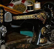 Antique Singer Sewing Machine by JennaKnight