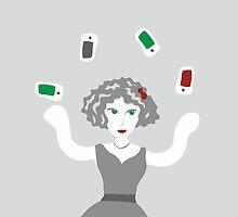 Socialmedia Lady - skillful by XOOXOO