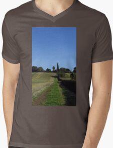 English Countryside Mens V-Neck T-Shirt