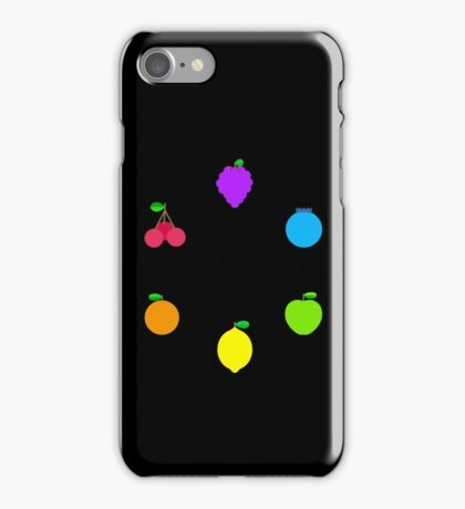 Rainbow Fruit iPhone Case/Skin