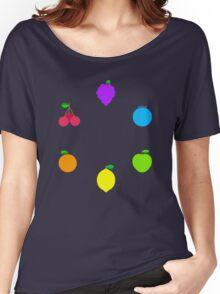 Rainbow Fruit Women's Relaxed Fit T-Shirt