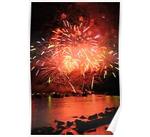 Fire Works Poster