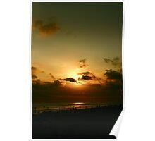 Kuta Sunset Poster