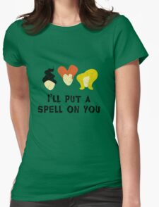 Hocus Pocus - I'll put a spell on you Womens Fitted T-Shirt