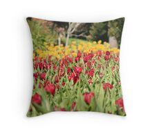 Araluen Tulips Throw Pillow