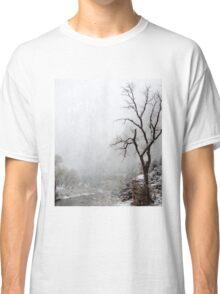 Zion Snowstorm Classic T-Shirt