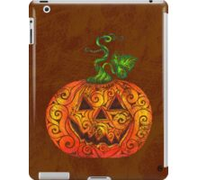 Swirly Pumpkin iPad Case/Skin