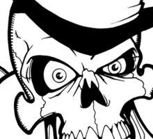 Tophat Heart Skull Sticker