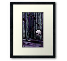Monster Hunting Framed Print