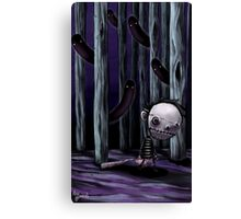 Monster Hunting Canvas Print