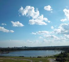 Over Orlando by Sean Paulson