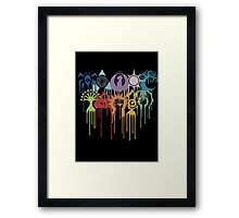 Magic the Gathering: Graphic Guilds Framed Print