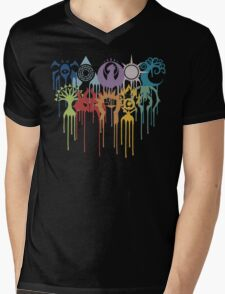 Magic the Gathering: Graphic Guilds Mens V-Neck T-Shirt