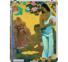 Paul Gauguin - The Month of Mary iPad Case/Skin