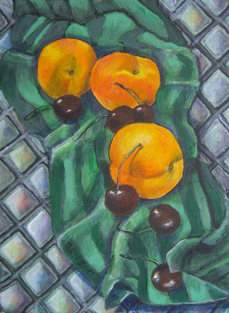 Peaches and Cherries by Shani Sohn