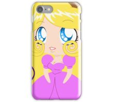 Blond Cupcake Princess In Pink Dress iPhone Case/Skin