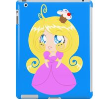 Blond Cupcake Princess In Pink Dress iPad Case/Skin